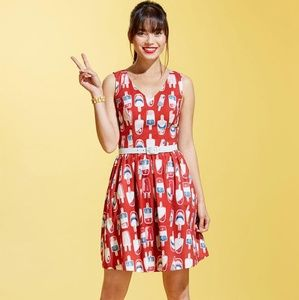Modcloth icecream popsicle dress sz small